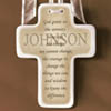 Personalized Serenity Cross