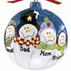 Personalized Ornaments - Family