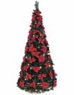 Poinsettia Pop-up Christmas Trees