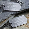 Miss You Personalized Dog Tags
