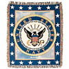 Military Throw - Army, Navy Air Force, Marine Gifts
