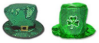 St. Patrick's Day Party Hats