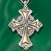 Irish Blessings Cross Necklace