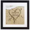 Personalized Valentine Gift - Heart in Sand