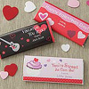 Personalized Valentine Candy Bar Wrappers